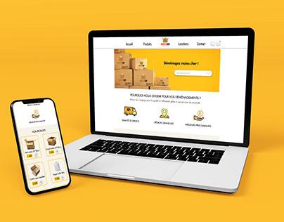 Web design : MoveUp
