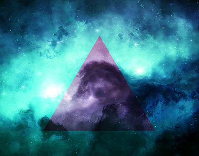 Wallpaper Triangle Space