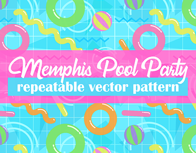 Memphis Pool Party - Pattern