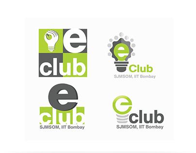 Logo Design : E-club