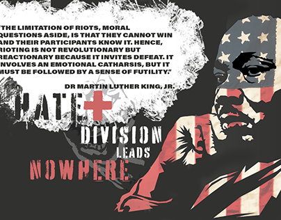 HATE + DIVISION Leads Nowhere