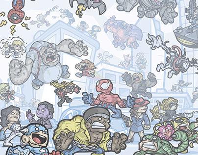 Marvel Illustrations