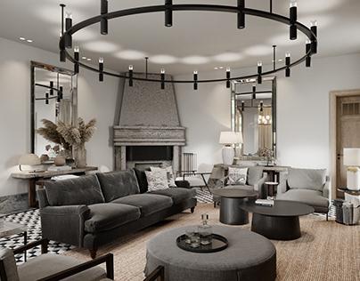 Full CGi / Private House Interior