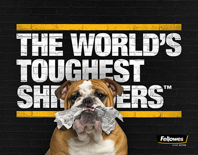 Fellowes® The World's Toughest Shredders™ Flyers