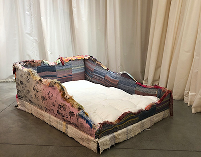 Waterloo sunset bed collab. with Ethan Shaw