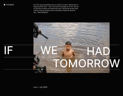 IF WE HAD TOMORROW | The movie