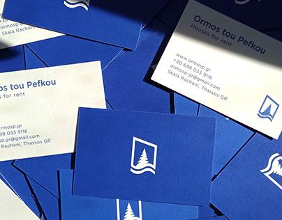 Ormos tou Pefkou - Brand identity