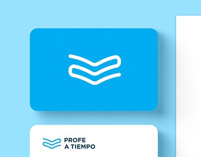 Profe a Tiempo - brand identity