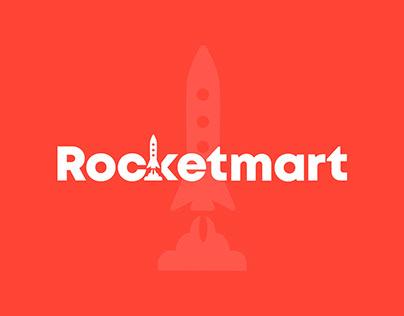 Rocketmart - website