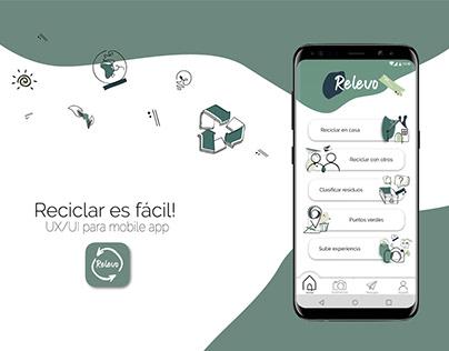 Relevo - App aprende a reciclar