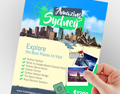 Travel Agency Flyer Poster