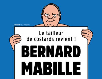 Bernard Mabille DLTAP Présidentielle 2017 [AFFICHE]