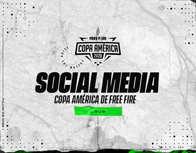 Social Media - LOUD Copa América