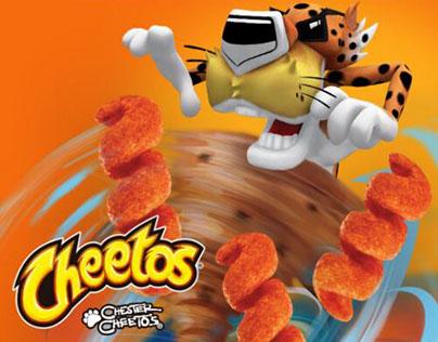 Modelado Chester Cheetos