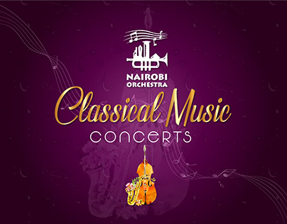 NAIROBI ORCHESTRA - Proposed Event Posters