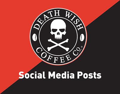 Death Wish Coffee Egypt - Social Media Posts