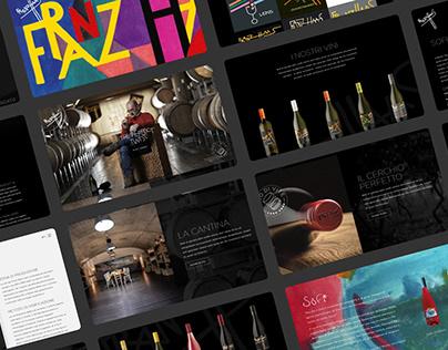 Franz Haas: Italian Winery Website Design