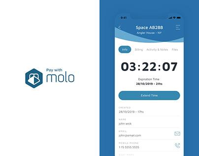 Molo / Management Platform / UX UI