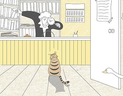 Carl Linney. Illustrations for OYLA December 2020