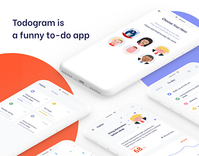 Todogram - funny to-do and habit app