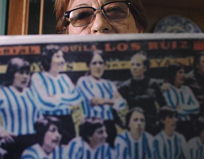 Viriginia Andrada, pionera del fútbol femenino.
