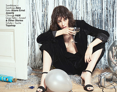 Champagne Supernova for Electric Feel Magazine