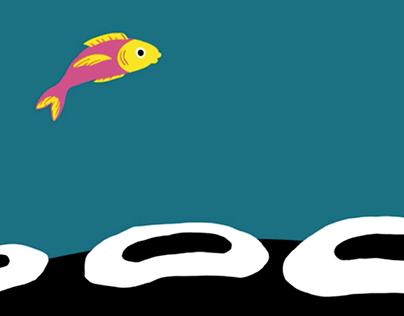 Jumping Fish Animation