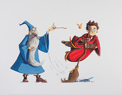 Merlin et harry