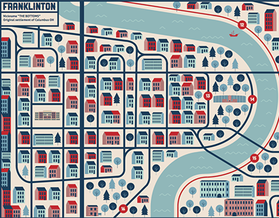 Maps of Columbus Ohio (Senior Thesis)