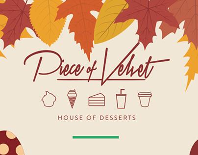 Piece of Velvet - Seasonal Door Sticker