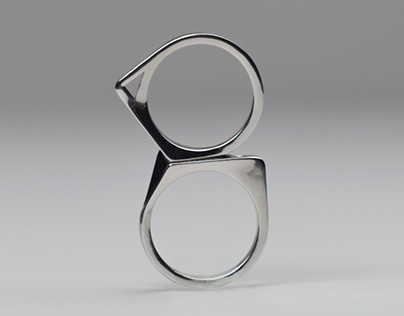 Distans - 3D printed metal rings