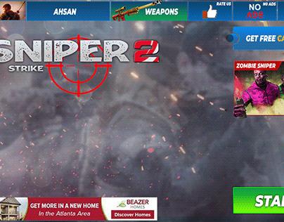 Survival Squad Shooting Game UI