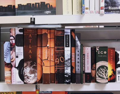 Land Rover Bookshelf