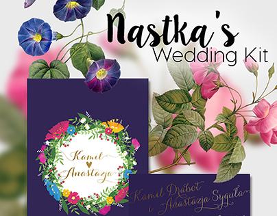 | Nastka's wedding kit |