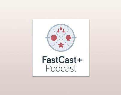 FastCast + Podcast Logo