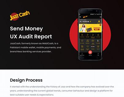 Jazz Send Money UX Audit
