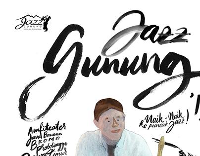 Redesigned Jazz Gunung Poster