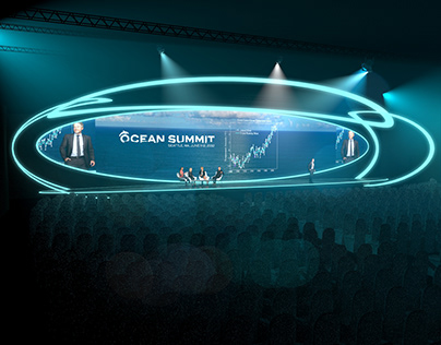 Ocean summit conference concept
