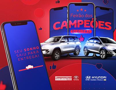FEIRÃO DOS CAMPEÕES - Toyota e Hyundai