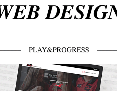 WEB DESIGN - Play&Progress
