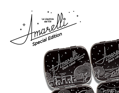 Amarelli Special Edition Liquorice Candies Packages Set
