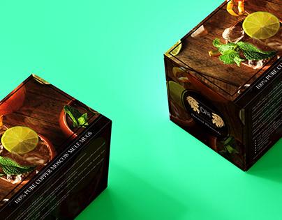 Mule mugs packaging