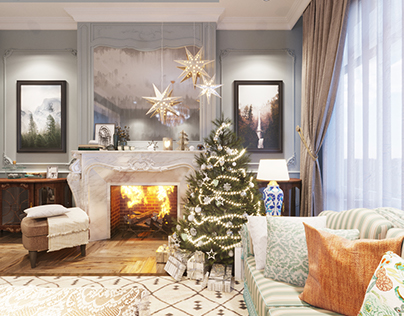 Free Scene :The Living Room