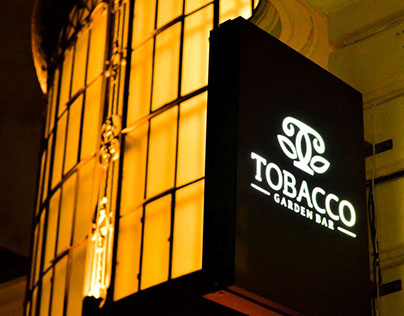 TOBACCO Garden Bar /Logo