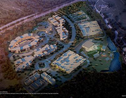 The Backyard Masterplan, Office & Data Center.