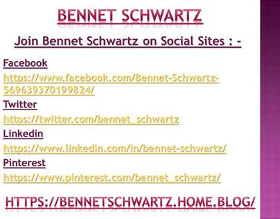 Bennet Schwartz is a vastly veteran fashion stylist for