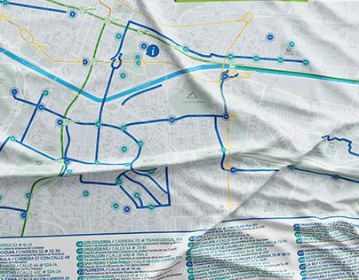 Map / Public Bike Sharing Systemof Medellín