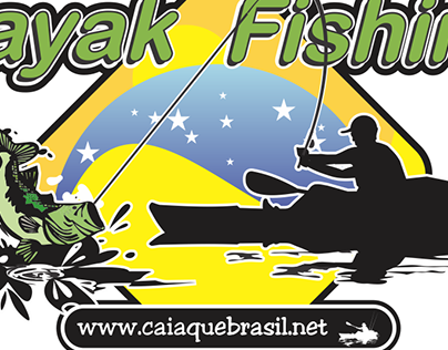 Adesivos temáticos Kayak Fishing