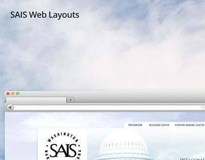 SAIS Web Layouts