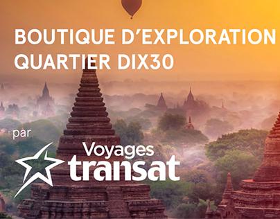 Boutique Quartier DIX30 Voyages Transat
